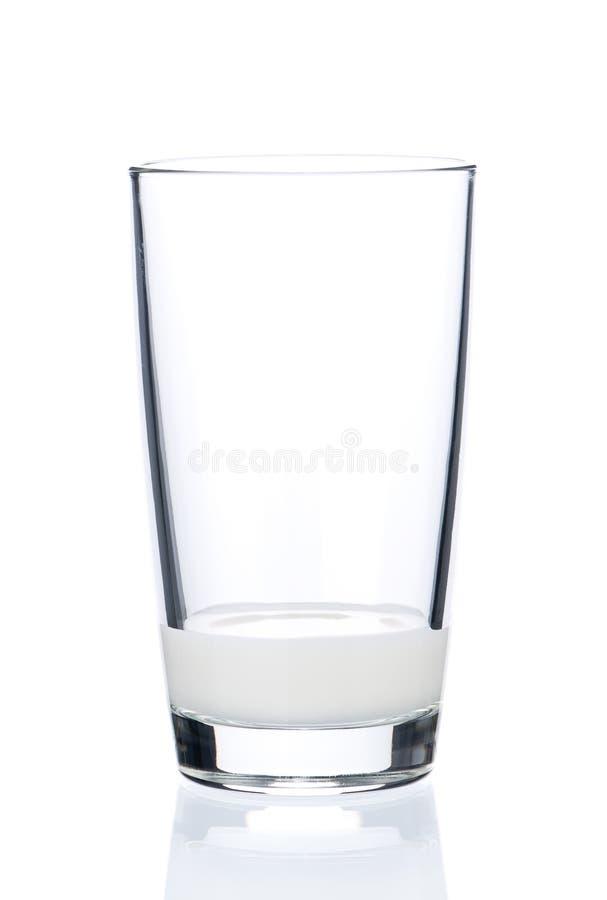 Vidrio de leche fotos de archivo