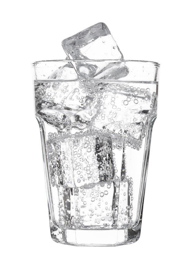 Vidrio de limonada de la bebida de la soda del agua chispeante imágenes de archivo libres de regalías