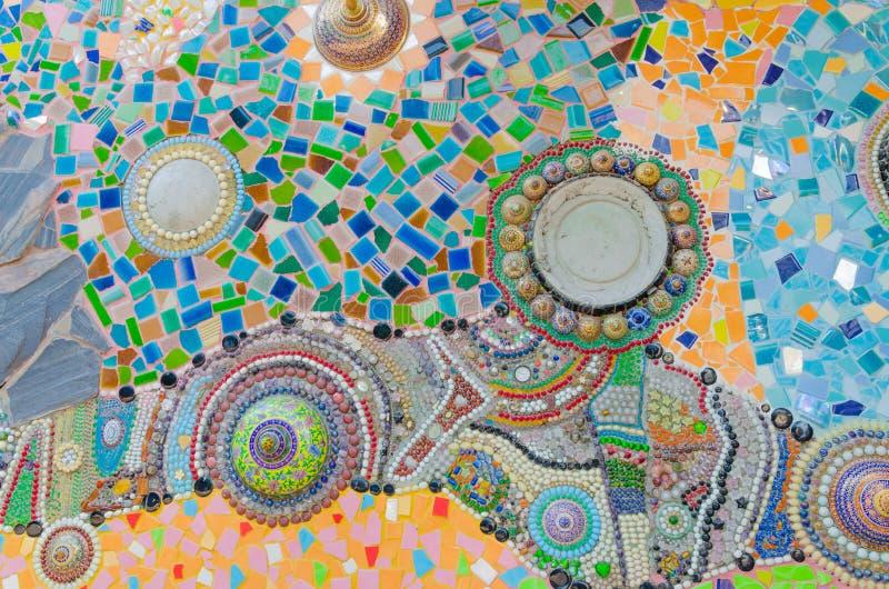 Vidrio de mosaico del arte fotos de archivo