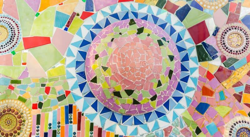 Vidrio de mosaico del arte fotos de archivo libres de regalías