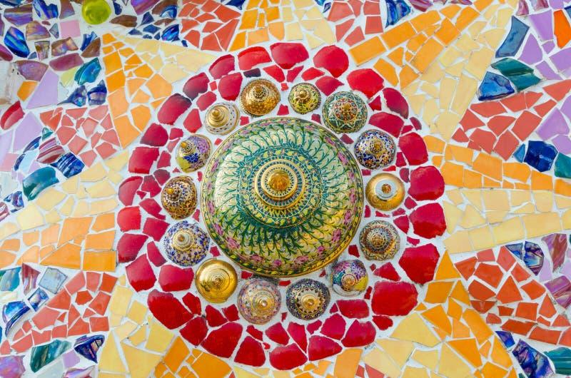 Vidrio de mosaico del arte imagen de archivo