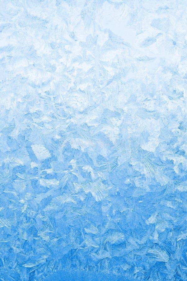 Vidrio De Ventana Congelado Azul Claro Imagen de archivo - Imagen de ...
