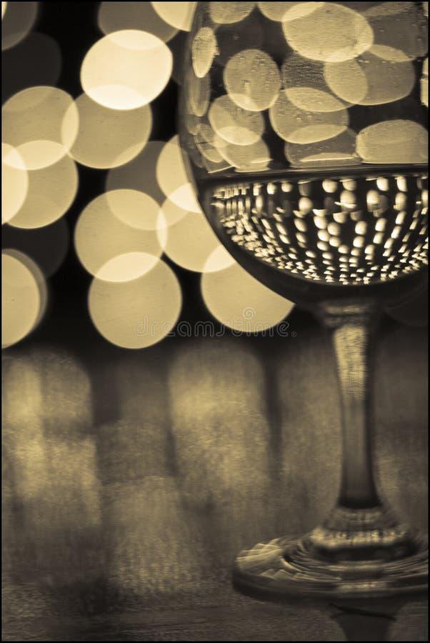 Vidrio de vino 2 imagen de archivo libre de regalías