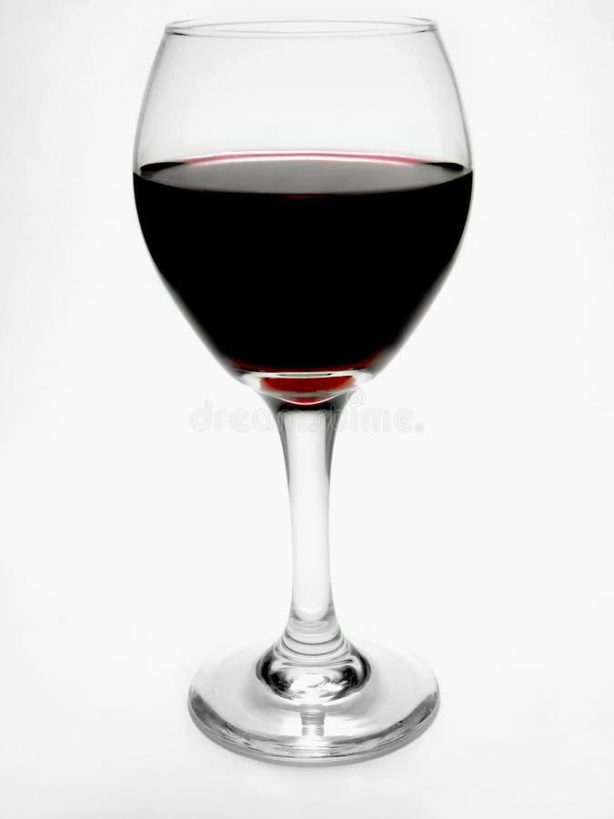 Vidrio de vino rojo imágenes de archivo libres de regalías