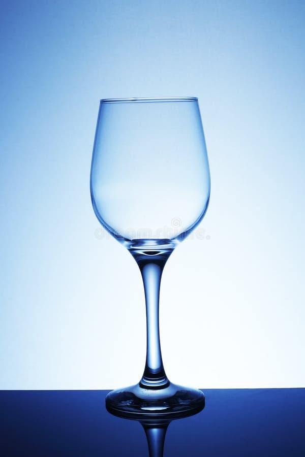 Vidrio de vino vacío fotos de archivo libres de regalías