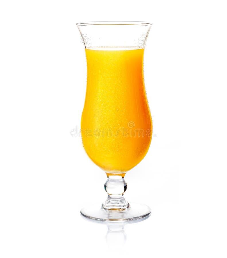 Vidrio de zumo de naranja imágenes de archivo libres de regalías