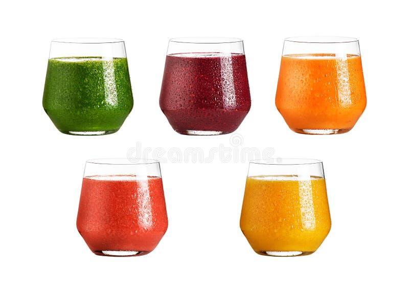 Vidrio de zumo de fruta fresca imagenes de archivo