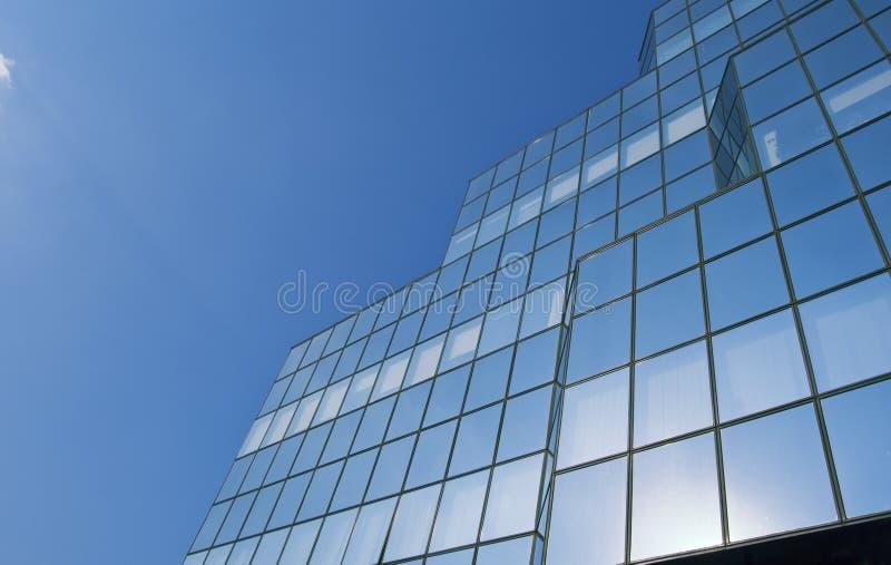 Vidrio del cielo foto de archivo