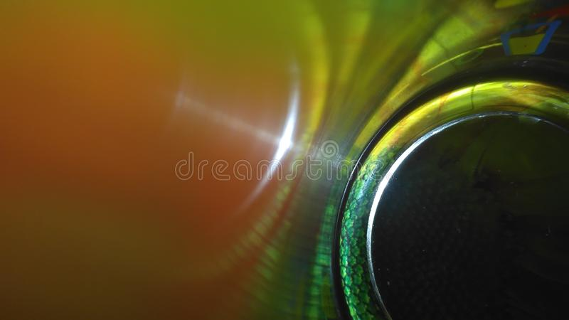 Vidrio del fondo imagen de archivo
