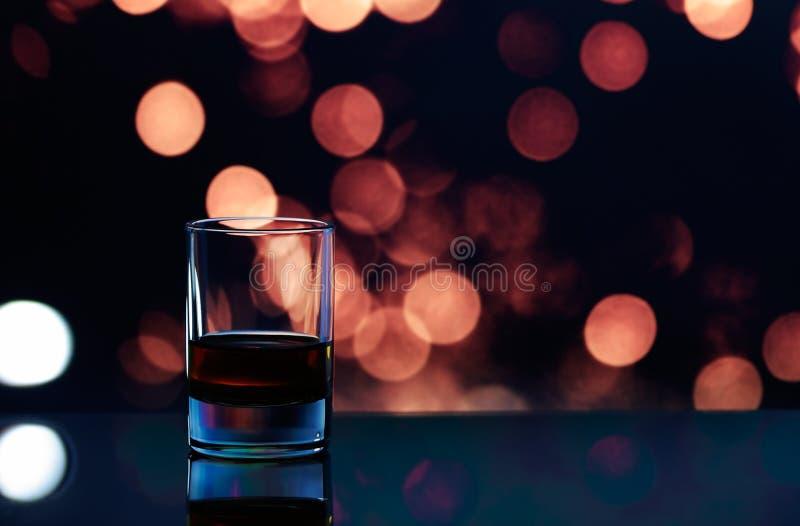 Vidrio del whisky foto de archivo libre de regalías