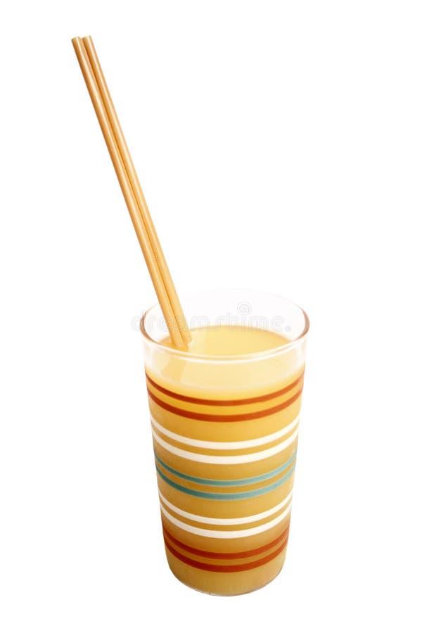 Vidrio del zumo de naranja fotografía de archivo