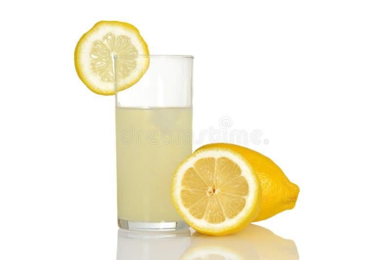 Vidrio fresco de limonada imagen de archivo