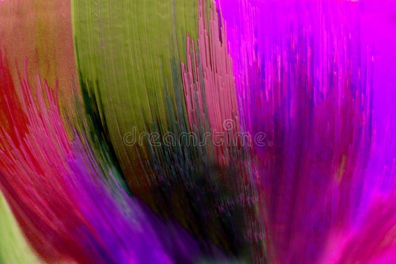 Vidrio hecho a mano brillantemente coloreado del extracto fotografía de archivo libre de regalías