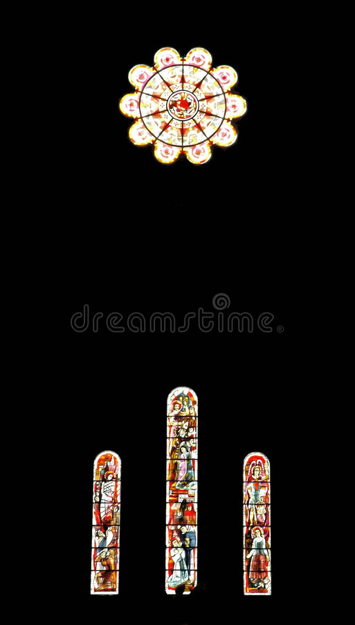 Download Vidrio manchado imagen de archivo. Imagen de monumento - 177085