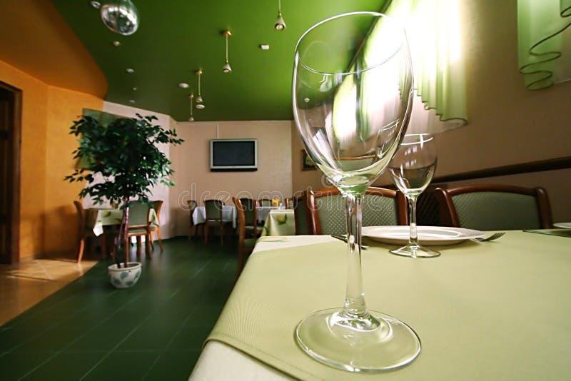 Vidrio para el vino imágenes de archivo libres de regalías
