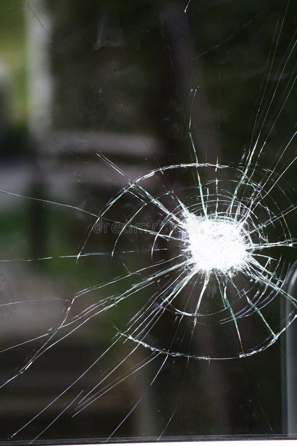 Vidrio quebrado imágenes de archivo libres de regalías