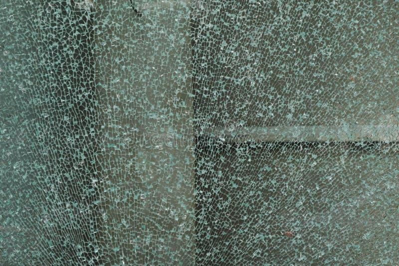 Vidrio quebrado fotos de archivo libres de regalías