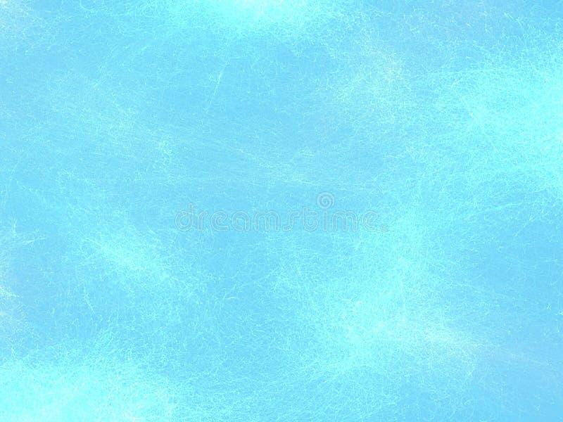 Vidrio viejo rasguñado fondo azul stock de ilustración