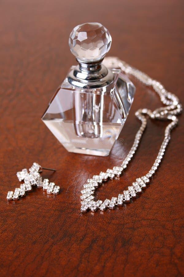 Vidrio y diamantes fotos de archivo libres de regalías