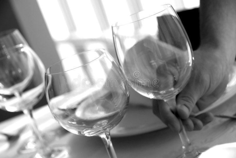 Download Vidrios imagen de archivo. Imagen de restaurante, vector - 1288991