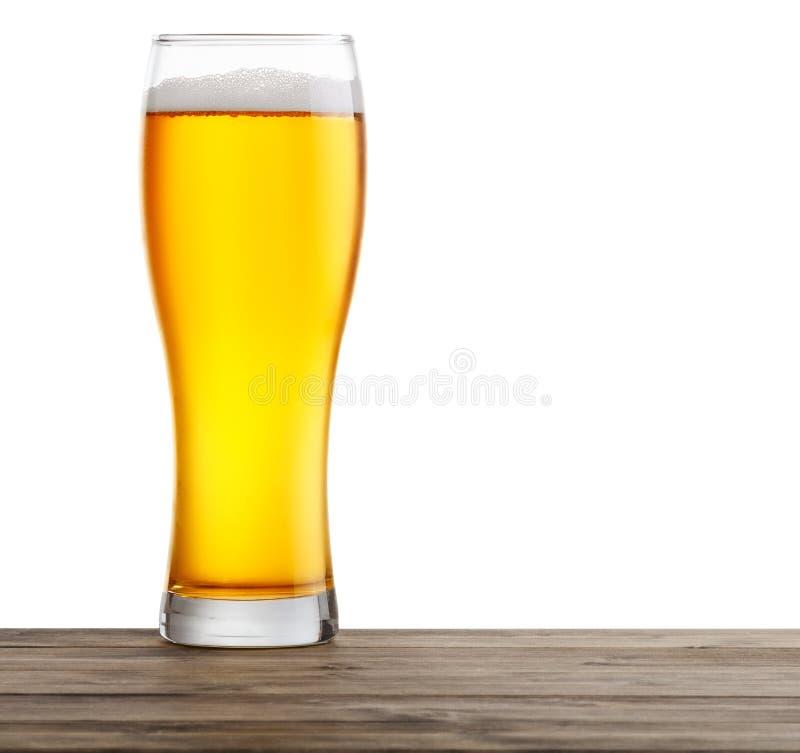Vidrios de cerveza imágenes de archivo libres de regalías