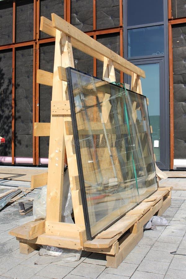 Vidrios de la ventana imágenes de archivo libres de regalías