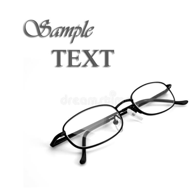 Vidrios de lectura foto de archivo