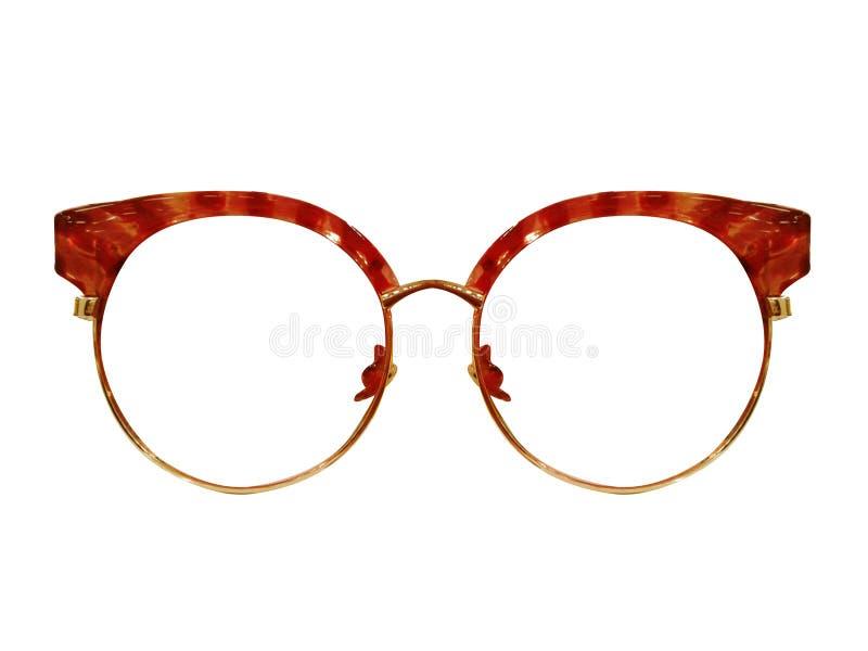 Vidrios en el fondo blanco Negro de la moda Gafas de sol negras S fotos de archivo libres de regalías