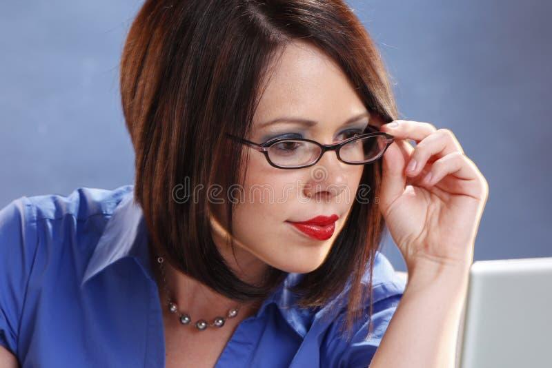 Vidrios que desgastan imagen de archivo