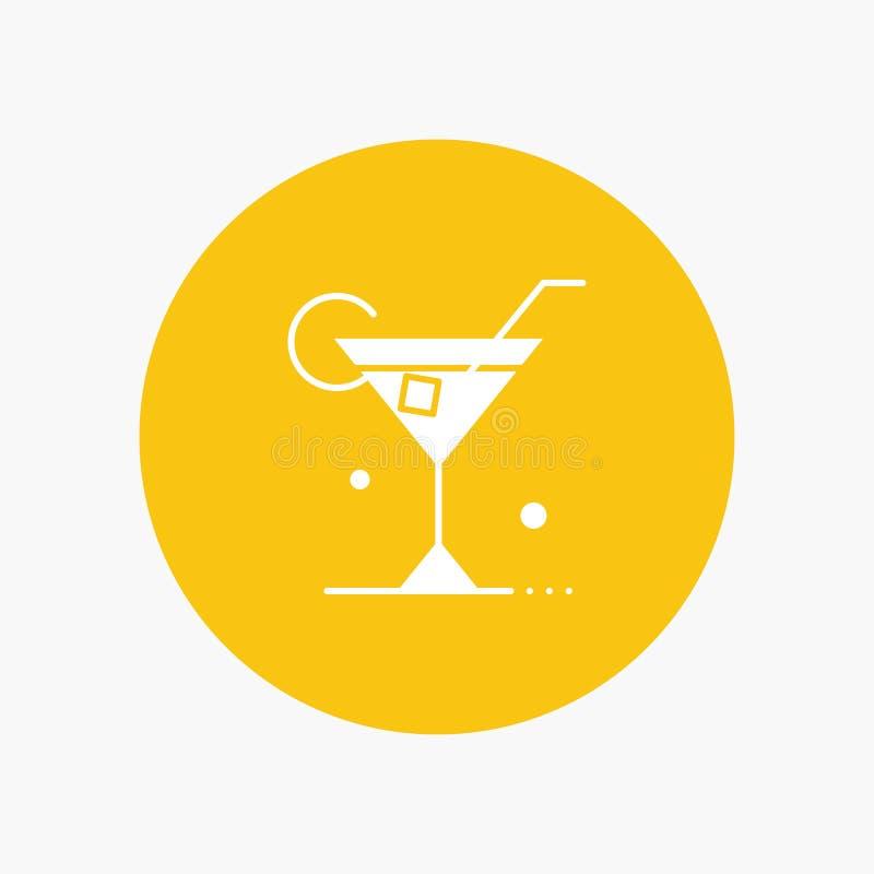 Vidro, bebida, vinho, mola ilustração stock