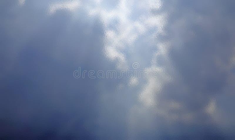 Vidro claro brilhante do fundo azul da textura da folha de prata Gol branco fotos de stock royalty free