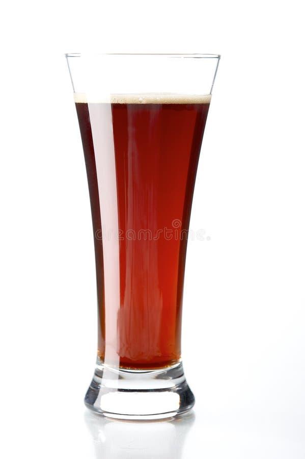Vidro com cerveja fotografia de stock royalty free