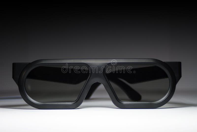 vidro 3D imagem de stock