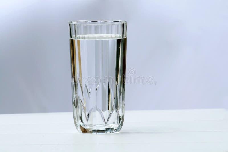 Vidro da água fotos de stock