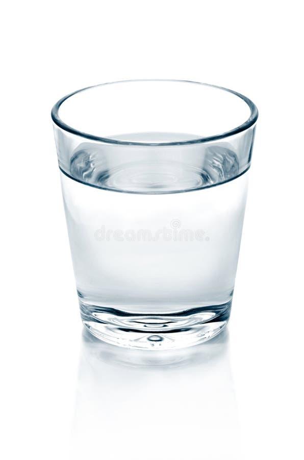 Vidro da água imagens de stock royalty free