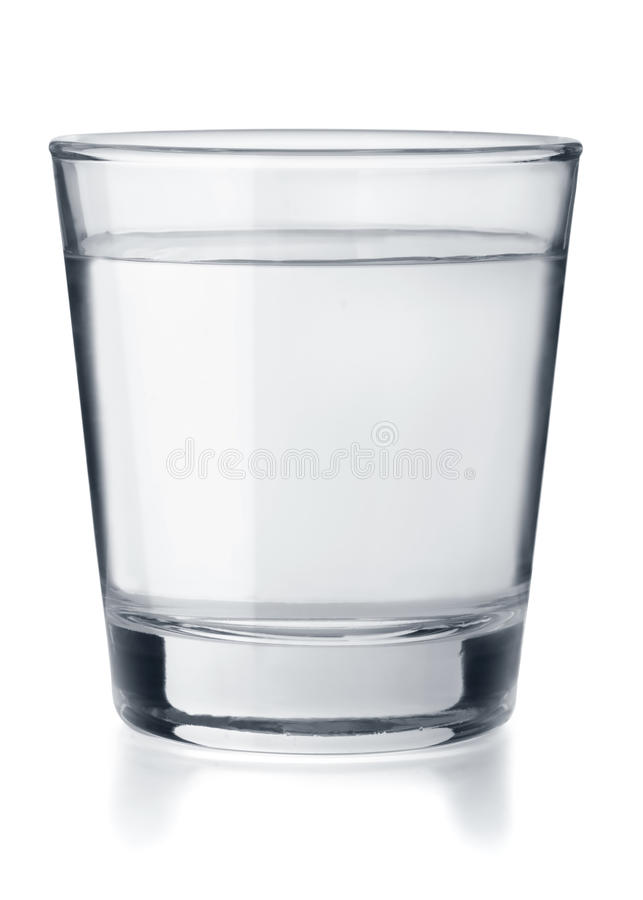 Vidro da água imagem de stock royalty free