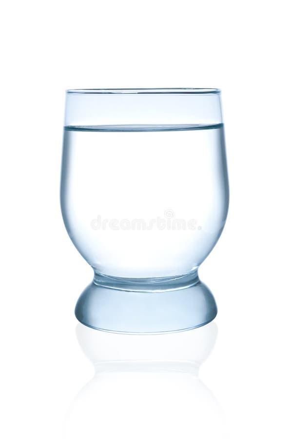 Vidro da água mineral fotos de stock royalty free