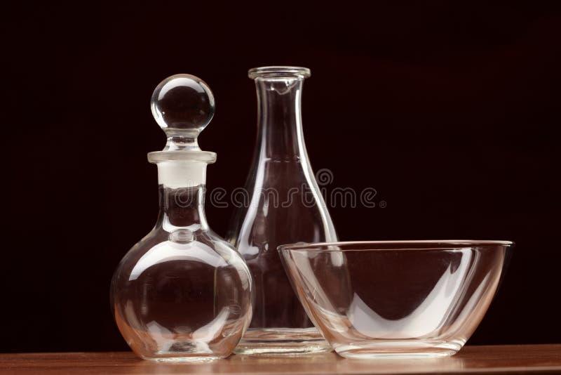 vidro da Ainda-vida imagens de stock