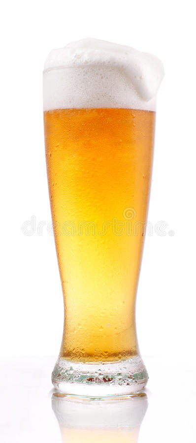 Vidro da cerveja imagem de stock royalty free