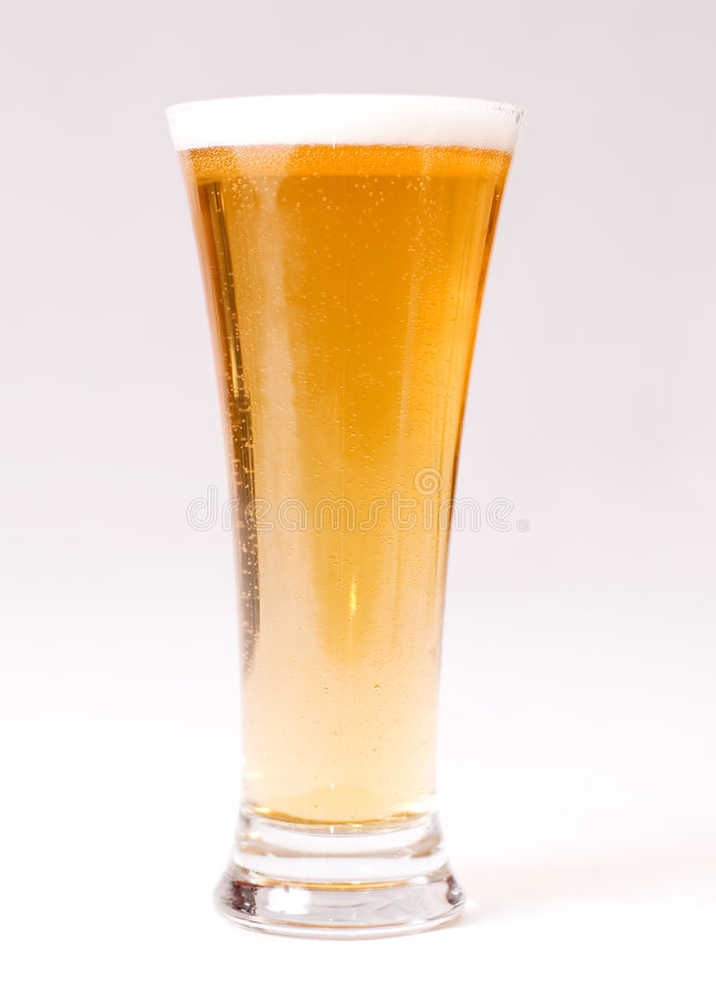 Vidro da cerveja fotografia de stock royalty free