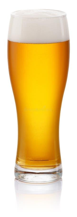 Vidro da cerveja fresca foto de stock