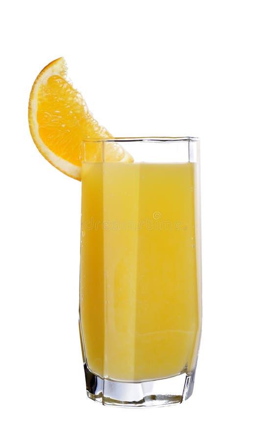 Vidro da laranja do suco imagens de stock royalty free