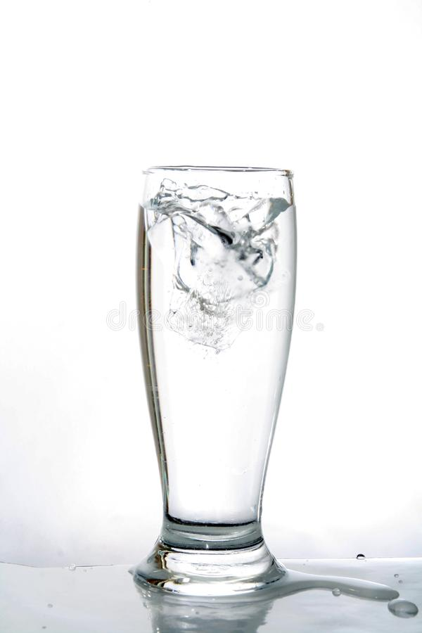 Vidro de água fotos de stock