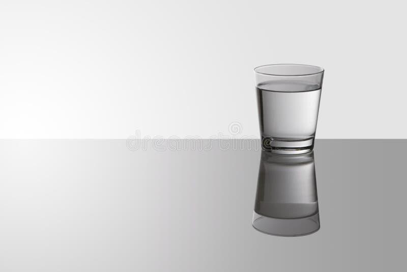Vidro de água fotografia de stock