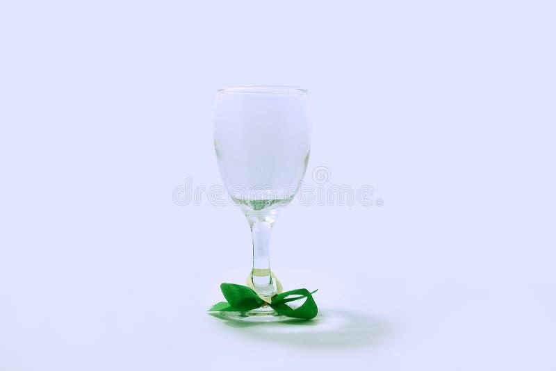 Vidro de vidro, antiguidade, magro, claro e agradável fotografia de stock