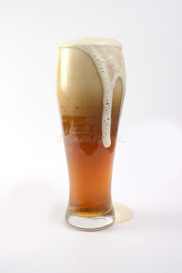 Vidro de cerveja imagens de stock royalty free