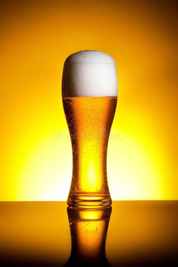 Vidro de cerveja fotos de stock