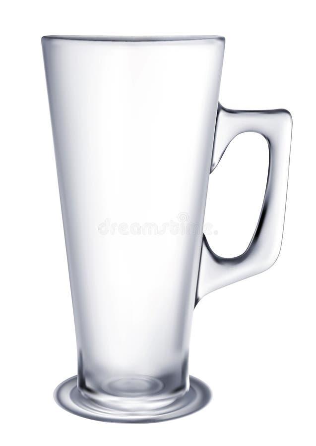 Vidro de cerveja ilustração stock