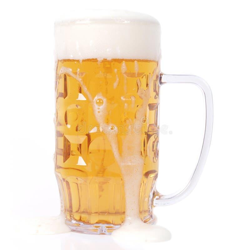 Vidro de cerveja alemão imagem de stock royalty free