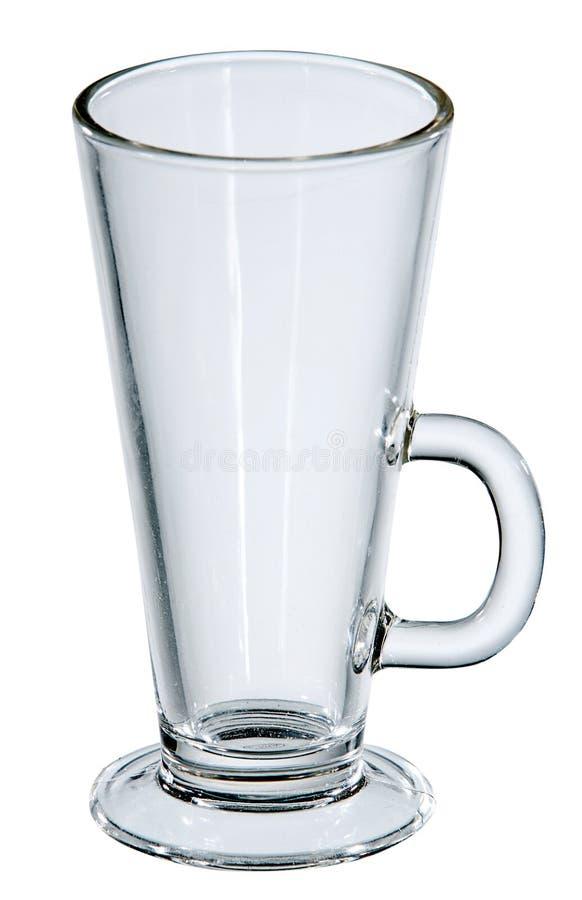 Vidro de cocktail vazio fotografia de stock royalty free